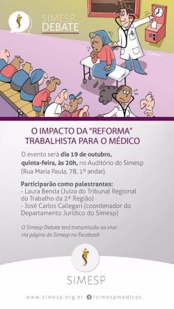 O IMPACTO DA REFORMA TRABALHISTA NO TRABALHO MÉDICO